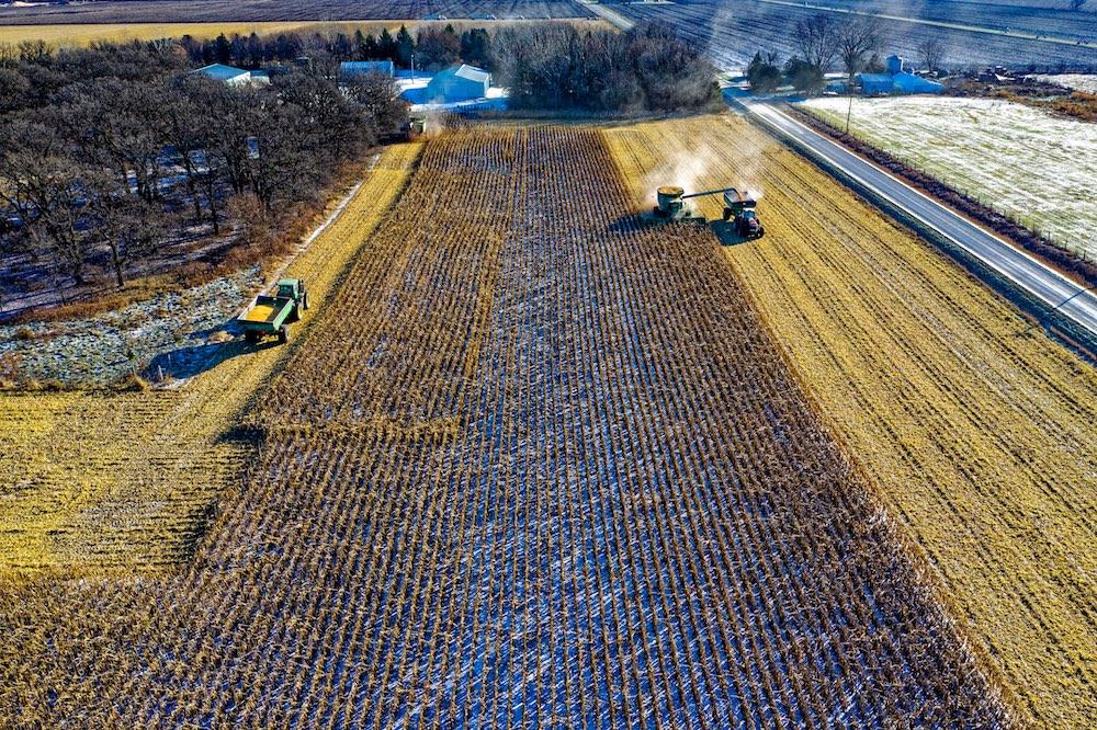 drone de precision cultivo
