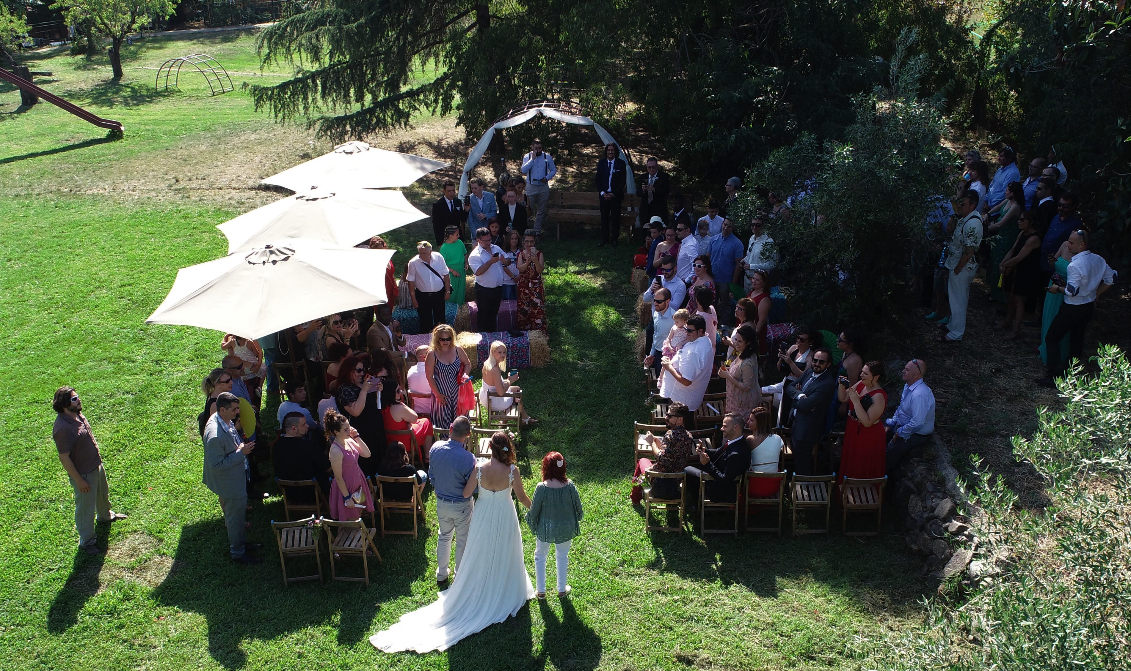 bodas con drones barcelona